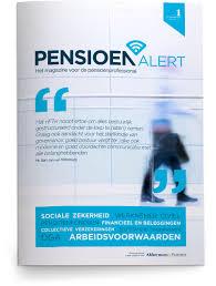 PensioenAlert 2021 ook voor pensioenfondsen